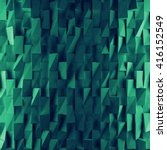 turquoise abstract squares... | Shutterstock . vector #416152549