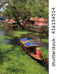 alleppey  india   jan 29   an... | Shutterstock . vector #416154514