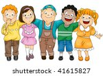 friends   vector | Shutterstock .eps vector #41615827