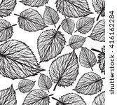seamless wallpaper and... | Shutterstock .eps vector #416162284