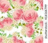 abstract elegance seamless... | Shutterstock . vector #416166799