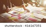 business corporation... | Shutterstock . vector #416167351