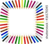 color pencils background raster