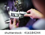 quality control manufacturing | Shutterstock . vector #416184244