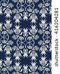 elegant  classic floral pattern ... | Shutterstock .eps vector #416204281