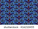calm  soft  evening pattern.... | Shutterstock .eps vector #416210455