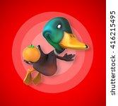 fun duck | Shutterstock . vector #416215495