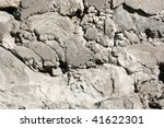 Destroyed Concrete Wall