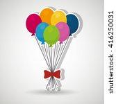 party pumps design    Shutterstock .eps vector #416250031