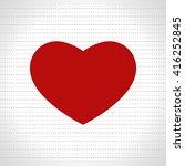 heart love design    Shutterstock .eps vector #416252845