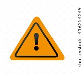 road sign design  | Shutterstock .eps vector #416254249