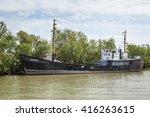 """ukrainian venice"" on danube's... | Shutterstock . vector #416263615"