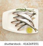 Fresh European Smelt Fishes...