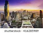 top view   modern building in... | Shutterstock . vector #416285989