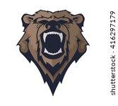 bear    Shutterstock .eps vector #416297179