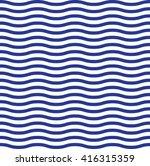 wave blue pattern. wave... | Shutterstock .eps vector #416315359