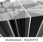 abstract grayscale transparent... | Shutterstock . vector #41631973