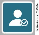 user icon  | Shutterstock .eps vector #416339824