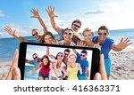 people. | Shutterstock . vector #416363371