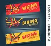 Cycling Or Biking Race Flyer...