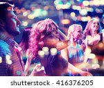 party  holidays  celebration ... | Shutterstock . vector #416376205