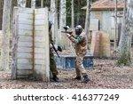saint petersburg  russia  ... | Shutterstock . vector #416377249
