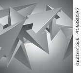 more shapes  unreal...   Shutterstock .eps vector #416380597