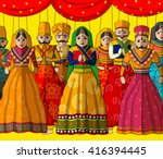 vector design of colorful... | Shutterstock .eps vector #416394445