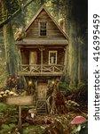 Fairy House  Stump   A...