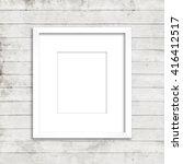 Vertical White Frame With Matt...