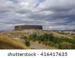 black fort. old russian...   Shutterstock . vector #416417635