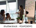 business meeting | Shutterstock . vector #416426041