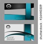 modern simple light business... | Shutterstock .eps vector #416440309