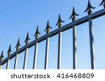 Security Pikes On Galvanized...