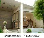 3d rendering and design  ...   Shutterstock . vector #416503069