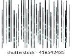 grunge vector texture | Shutterstock .eps vector #416542435
