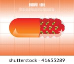 abstract medical background... | Shutterstock .eps vector #41655289