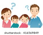 cute style young family | Shutterstock . vector #416569849