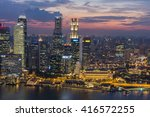 singapore   april 14  2016 ... | Shutterstock . vector #416572255