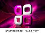 digital illustration of four... | Shutterstock . vector #41657494