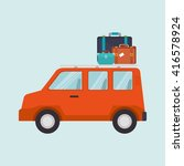 travel vacations design  | Shutterstock .eps vector #416578924