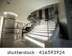 Modern White Marble Stairs For...