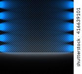 interior design with spotlight... | Shutterstock . vector #416639101
