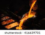 production of aluminium master... | Shutterstock . vector #416639701