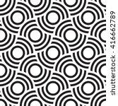 vector seamless texture. modern ... | Shutterstock .eps vector #416662789