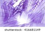3d rendering  abstract... | Shutterstock . vector #416681149