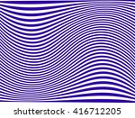 curved stripes. abstract... | Shutterstock .eps vector #416712205