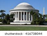 Thomas Jefferson Memorial And...