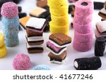 Towers Of Licorice Allsorts
