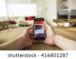 lendelede  belgium   may 02th... | Shutterstock . vector #416801287